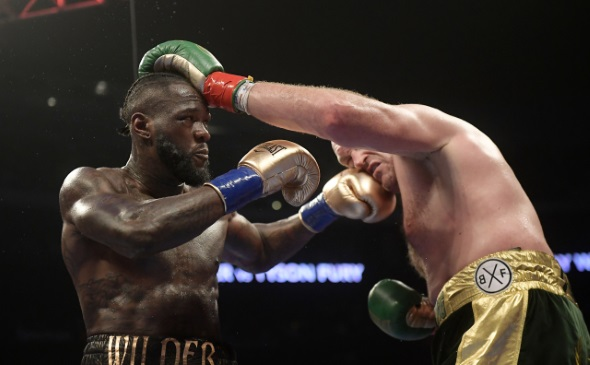 Box, Deontay Wilder, Tyson Fury - ČTK, AP, Mark J. Terrill