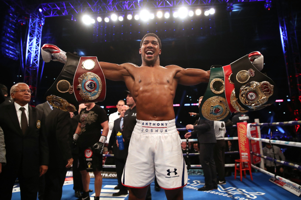 Box. Anthony Joshua - ČTK, PA, Nick Potts